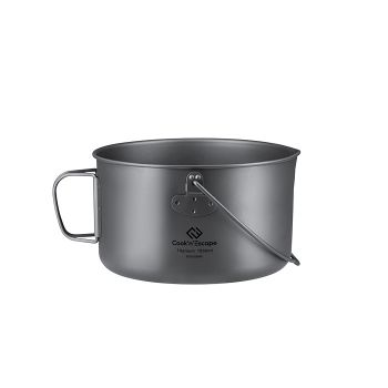 COOK'N'ESCAPE Outdoor Pot Camping Barbecue With oversise hanging handle 1950ml