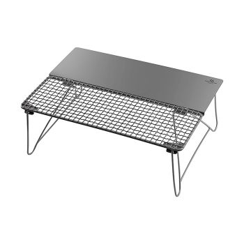 COOK'N'ESCAPE Outdoor BBQ Table Titanium Fold Grill Table